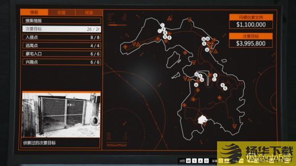 《GTAOL》佩里科岛DLC全兴趣点及侦查点一览