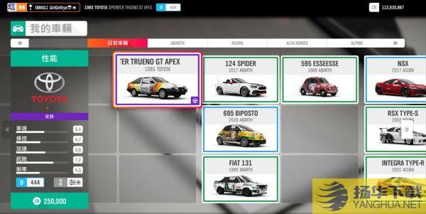 《极限竞速地平线4》丰田AE86车辆分析丰田AE86好不好