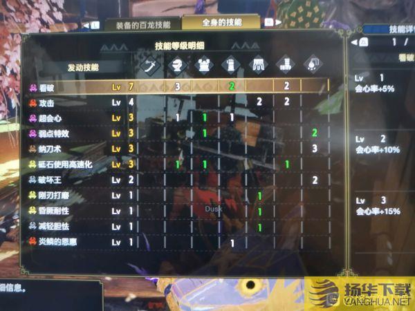 《怪物猎人崛起》2.0版高配轰龙太刀配装推荐