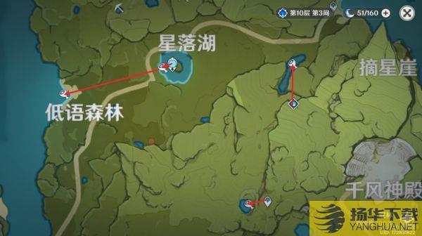 《原神》鱼肉收集路线展示