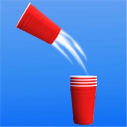 纸杯叠叠跑游戏